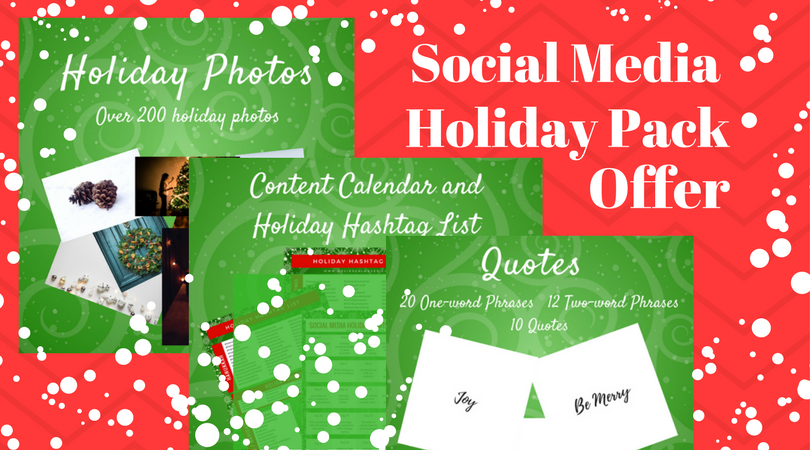 Post engaging holiday quotes, phrases and pictures to entertain and keep your audience engaged during the holidays.