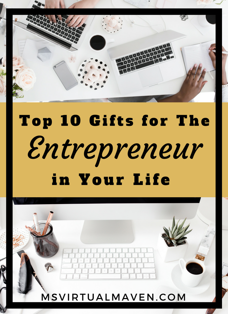 Not sure what kind of present to get the special entrepreneur in your life? Here are 10 gift ideas - from wellness to techie ideas to make anyone happy.