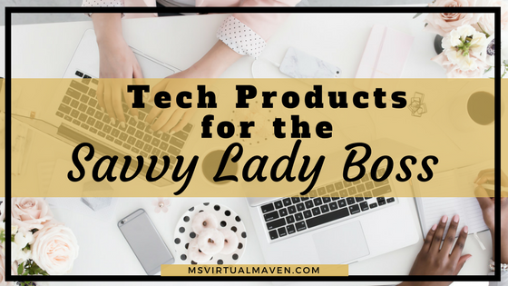 Being a social media focused entrepreneur is not easy. Boring gadgets are a thing of the past. These products are sure to bring a little dazzle to your home space, as well as a little sparkle any lady boss would love.