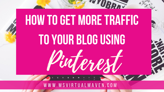 How to get more traffic to your blog using Pinterest